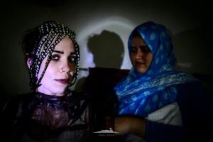 tocado boda saharaui