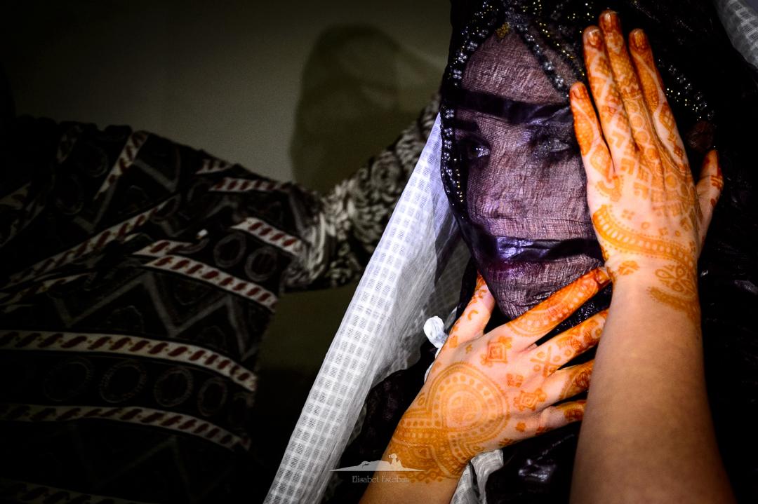colocacion vestido novia sharaui