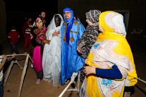 novios saharauis se encuentran
