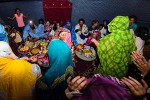 banquete saharaui en haima