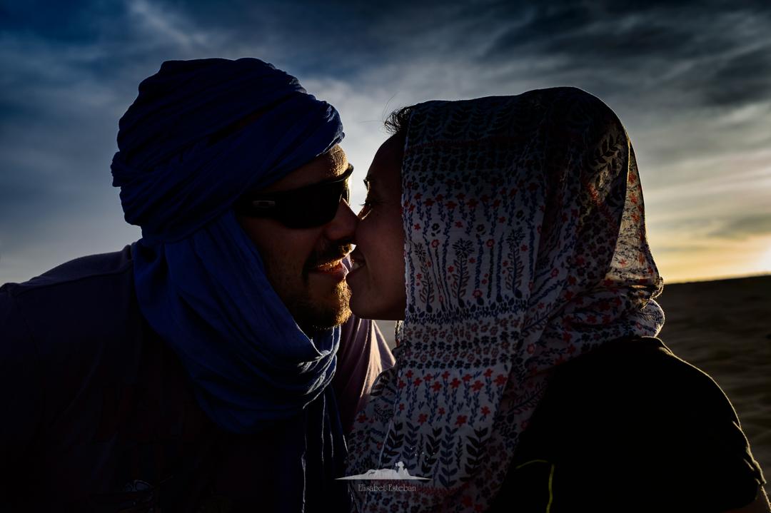 tarde romantica en las dunas