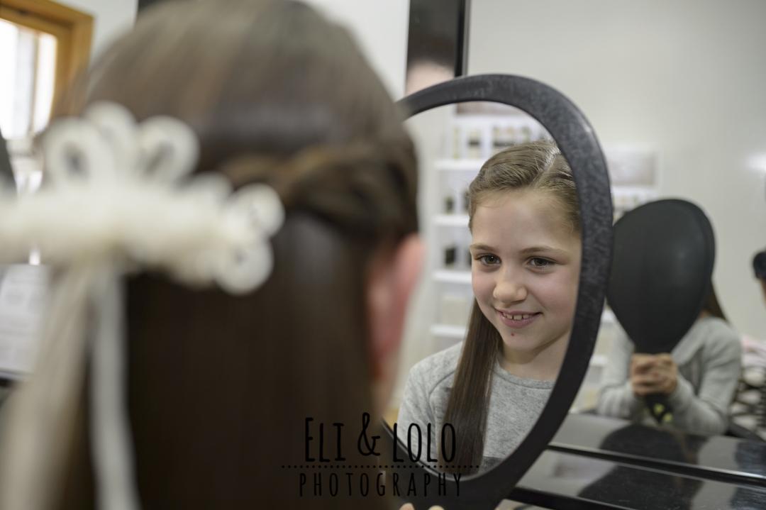 retrato en peluqueria