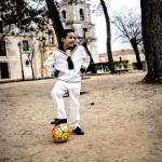 futbolista primera comunion