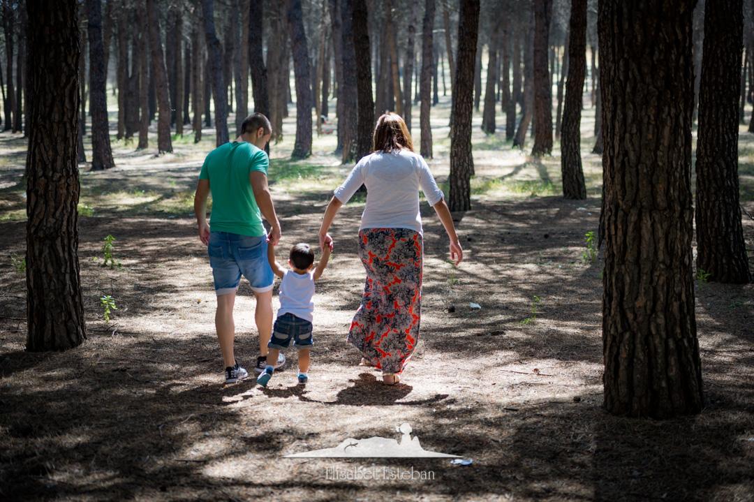 paseo familiar embarazados