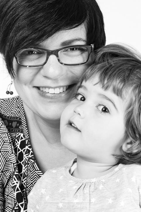un retrato madre e hija