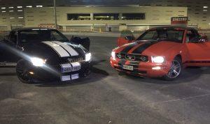 Pareja de Mustang Thematicars