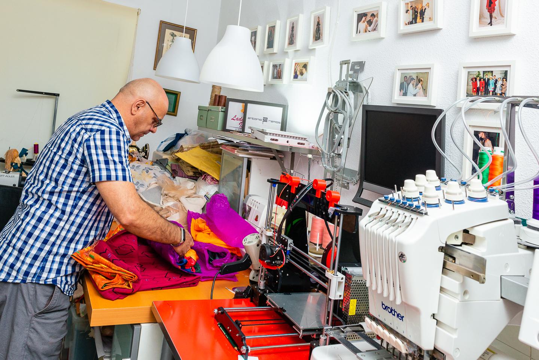 AntonioRamos diseñador trabajando